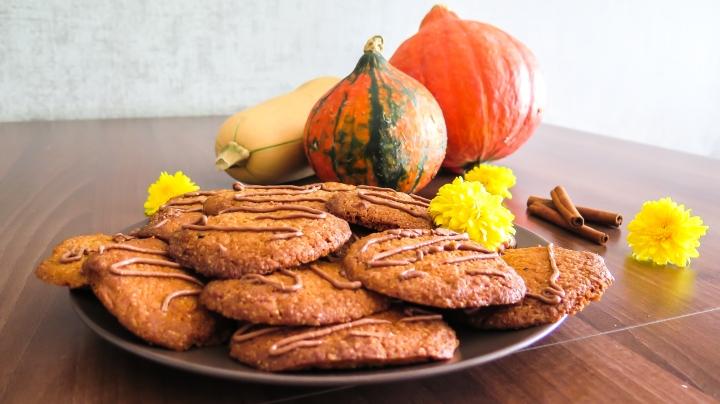 Dýňové máslové sušenky